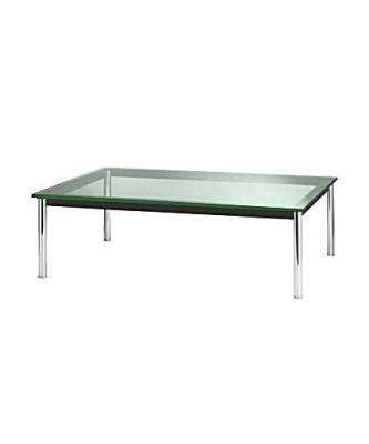 Mesa lc 10 cofee table le corbusier hermes equipamiento for Mesa cristal le corbusier